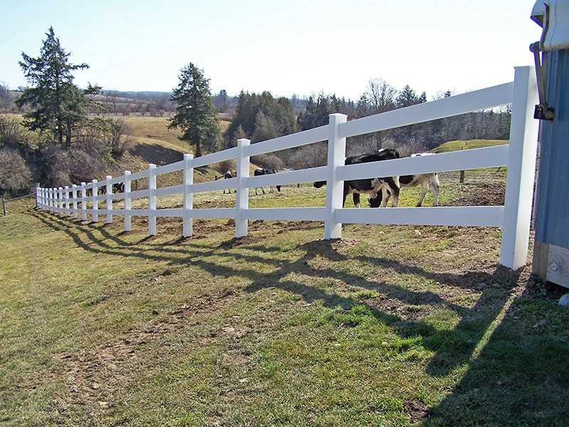 QZP-02(1372x2440MM)-3 Rails Fence
