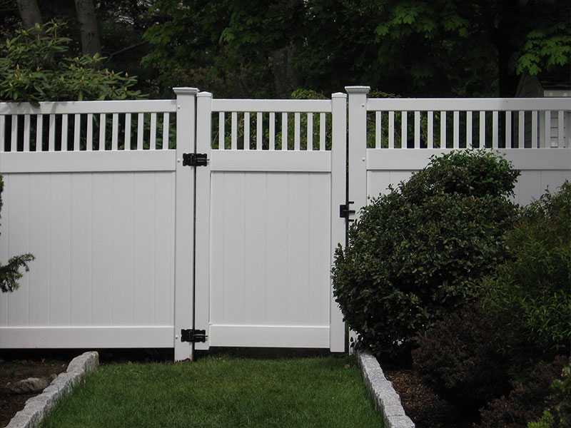 QZP-06(1830x2440MM)-PVC Privacy Fence With Closed Picket