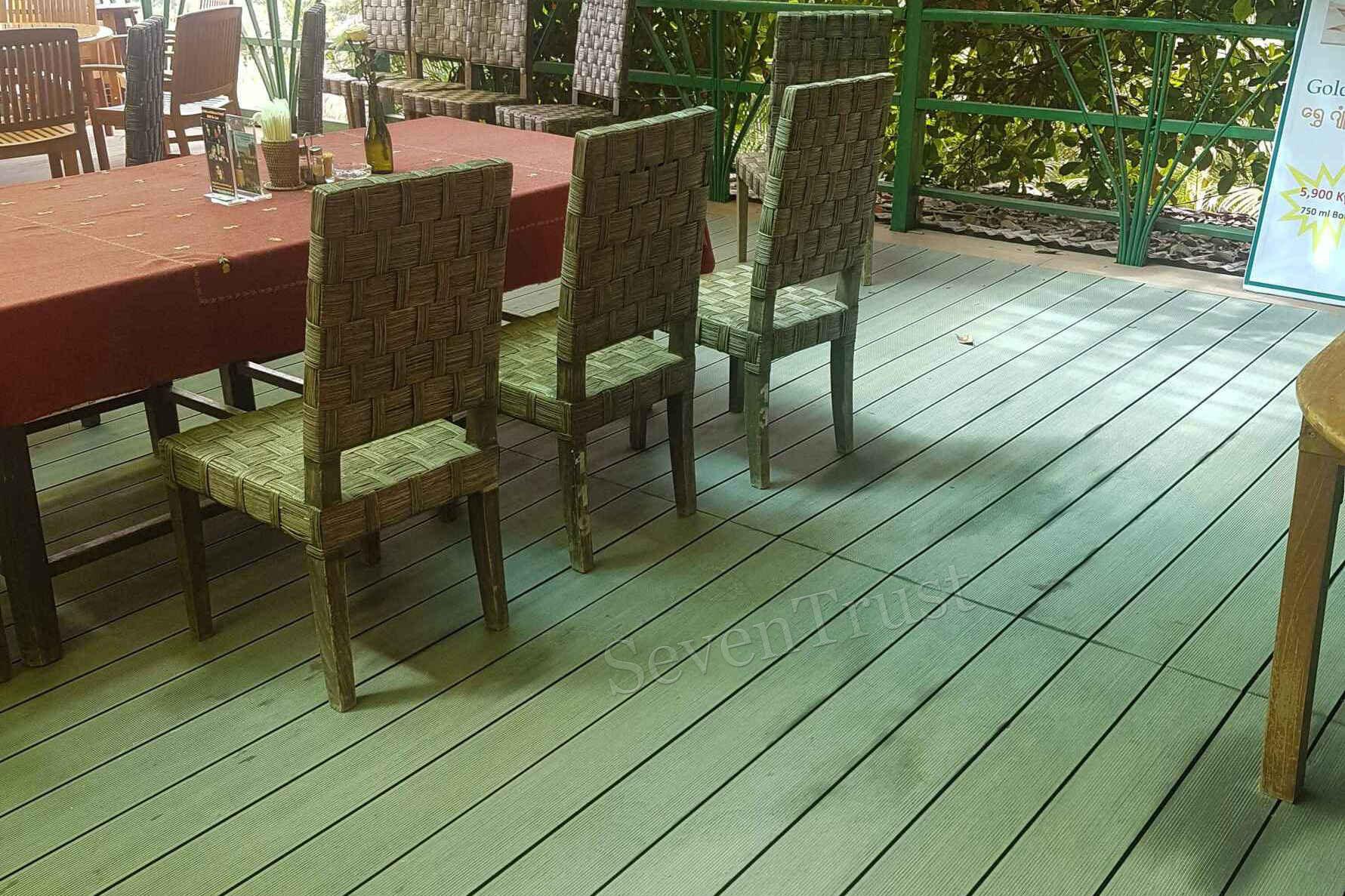 myanmar composite flooring project