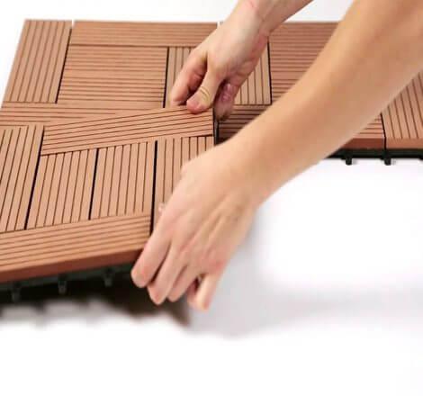 Terrasses en WPC DIY